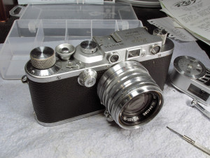 Here it is with my Nikkor-HC 1:2 5cm lens from 1953