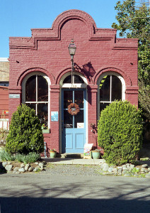 Old building in Jacksonville, Oregon