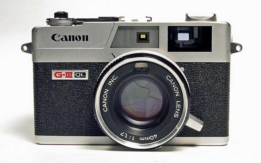 Canon Canonet Ql17 G Iii